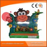2017 inflable gorila mono salto Bouncy Caslte (T1-507)
