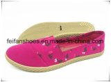 2017 nuevos zapatos del ocio de los zapatos de lona de la inyección de las mujeres (FFPY0619-01)