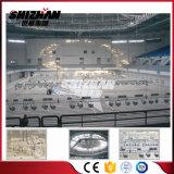 Aluminiumlegierung-beweglicher heller Fahnen-Binder-Hauptstandplatz