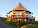 Proveedores Camping tienda de exterior de camping Safari decoración tienda de campaña de lujo para la venta