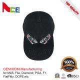 Gorras de béisbol lindas bordadas modificadas para requisitos particulares