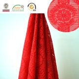 Dress Lace Fabric 171方法赤い女性