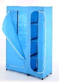 Garde-robe de tissu d'Amjsjw014b avec le certificat de la CE