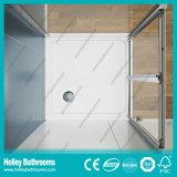 Дверь Pivor ливня алюминиевая складывая с Tempered прокатанным стеклом (SE920C)