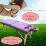 Base portable del masaje del vector del masaje para las mujeres
