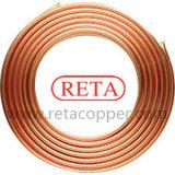 Tubo del cobre de la bobina del cobre de la refrigeración
