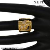 Anello di barretta largo di 13551 modo grande in oro placcato per la celebrazione