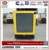 Conjunto de generador diesel silencioso trifásico 80kw/100kVA de la CA accionado por Cummins Engine