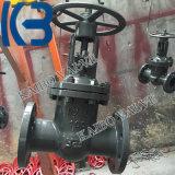 Pn40 Dn100 GOST/API/DIN moldou a válvula de porta do aço inoxidável