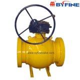 A alta qualidade de China moldada/forjou a válvula de esfera do corpo de aço