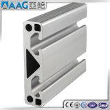 Ligne encochée par T aluminium/de production industrielle profil en aluminium