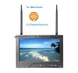 32 5.8GHz는 7 인치 CCTV LCD 모니터 채널 이중으로 한다