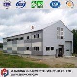 Magazzino progettato dei materiali da costruzione della struttura d'acciaio/liberato di