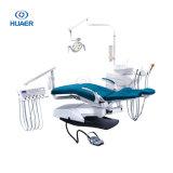 Silla dental con la unidad dental de la escupidera de cerámica Tempered lujosa