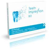 Masilla dental modificada para requisitos particulares del material de la impresión del silicón de la bandeja de la impresión