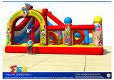 Castello gonfiabile di tema del circo