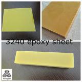 3240 Fr-4/G10 Pertinax Glasfaser-Blatt freies Sampel erhältliches Aqua/Schwarzes/gelbe Farbe