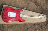 Hanhai Music/St Art-elektrische Gitarre mit Zebra-Streifen-Furnier-Blatt