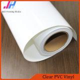Съемный лоснистый винил прилипателя PVC ясности