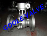 Stahl-manuelles Standardkanal-Kugelventil der Form-150lb (GAQ41F)