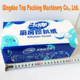 Machine à emballer de empaquetage automatique de tissu de serviette de papier de soie de soie faciale