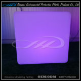 Muebles ligeros recargables plásticos rotatorios del LED que moldean
