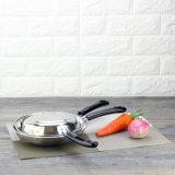 Vaschetta di frittura di Skidproof dell'acciaio inossidabile (FT-02106)
