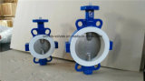 Клапан-бабочка запечатывания PTFE (D71X-10/16)