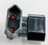 電源コードのソケットの挿入電源コードのソケットはVDE NFのセリウムGSを挿入する