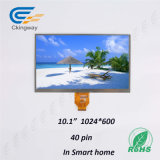 10.1 módulo do indicador da polegada 1024*600 TFT LCD