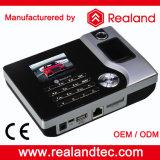 Realand 생물 측정 지문 RFID 카드 판독기 시간 출석