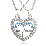 模造宝石類-金属によって刻まれるロゴの吊り下げ式のネックレスの宝石類のギフト