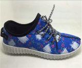 Zapatos de la inyección de los zapatos ocasionales del deporte de las mujeres de China