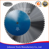 6001500mm Wall Diamond Saw Blade voor Concrete en Reinforced Concrete