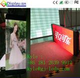 Visualización de LED elegante de poste del alumbrado público del control del diseño LAN/WiFi/3G del teléfono