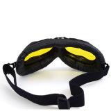 Óculos de proteção desobstruídos da motocicleta do capacete da lente