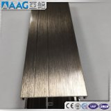 양극 처리하는 또는 힘 입히는 또는 전기 이동법 Polished/PVDF/Milled 알루미늄 밀어남 단면도