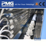 先行技術のプラスチックびんのブロー形成機械