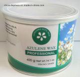 Чонсервная банка воска 400g прокладки депиляционного воска Azulene мягкая