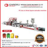 Machines de plastique d'extrudeuse de bagage de feuille de plaque de couche du PC deux ou trois