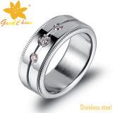 Exsr44b 316 joyas de moda con incrustaciones de circón cúbico Encienda Anillo