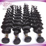 Do Virgin Curly frouxo da onda da forma trama brasileira do cabelo humano de Remy