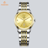 Fashion Stainless Steel Case Brand Couple Lover Montres en cristal Swiss Wrist Watch 72842