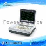 Bluetooth를 가진 Ios를 위한 Portable 12 채널 ECG 기계