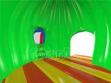 Castello gonfiabile della trasparenza del Bouncer di disegno del dinosauro per i bambini