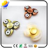 손 방적공 Alunimun 합금 LED 번쩍이는 싱숭생숭함 방적공 장난감