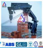 Заграждение заграждения костяшки морским артикулированное краном вытягивает шею морской складывая кран