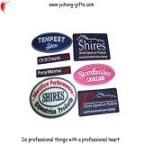 Etiquetas suaves del PVC con la insignia grabada 3D para la ropa (YH-RL020)