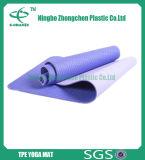 Самой лучшей циновка йоги Eco циновки йоги TPE качества естественной напечатанная таможней