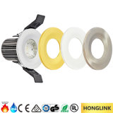 fuoco IP65 Rated LED Downlight chiaro di 8W BS476 con l'incastronatura intercambiabile